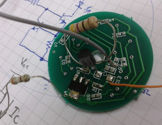 constant current supply experiment board