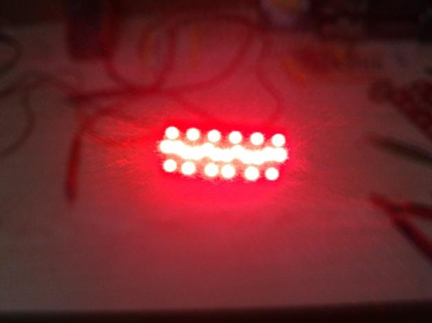 LED'ler çıplak halde