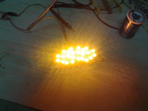 Sinyal LED'leri çıplak
