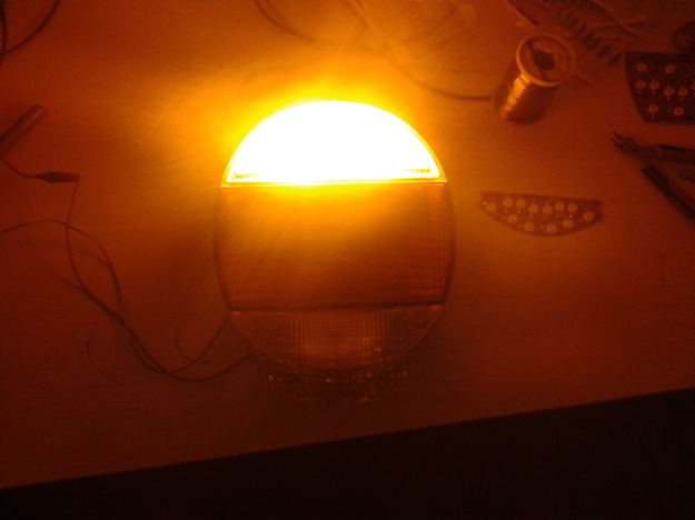 Sinyal lambası yanarken