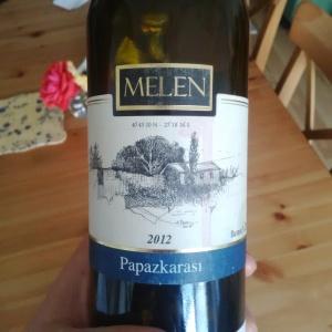 Melen Papazkarası şarap