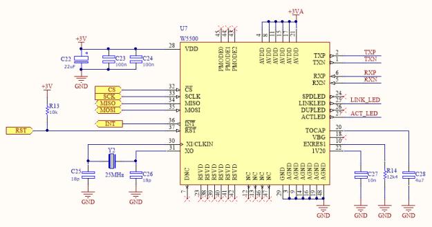 W5500 Schematic